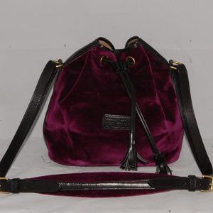 Dooney&Bourke velvet shoulder bag